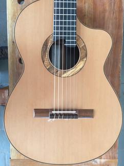 Guitarra para Dani Cortaza