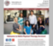 Wells Physical Therapy website