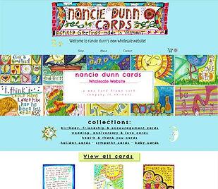 Nancie Dunn Cards website