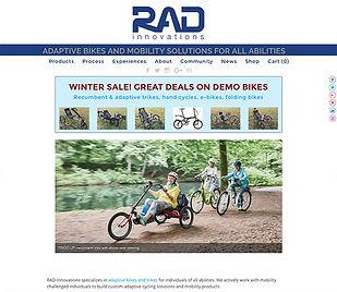 Rad Innovations website