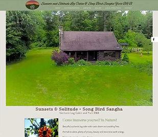 Sunsets & Solitude B&B website
