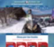 Snowmobile Vermont website