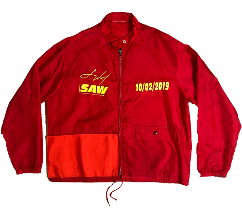 [M] Red Canu Windbreaker