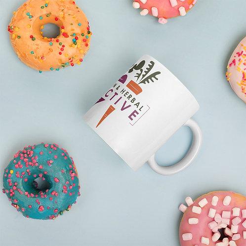 TNHC White glossy mug