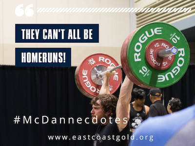 McDanecdote Monday: They can't all be home runs