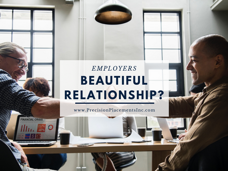 EMPLOYERS:: IS THIS GOING TO BE THE BEGINNING OF A BEAUTIFUL WORKING RELATIONSHIP?
