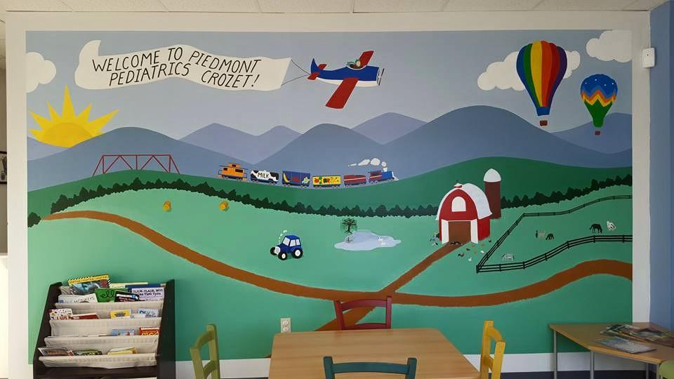 Custom murals for home or office