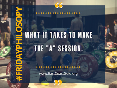 Phil-Osophy: What it Takes to Make the A Session