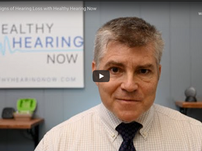 Classic Signs Of Hearing Loss