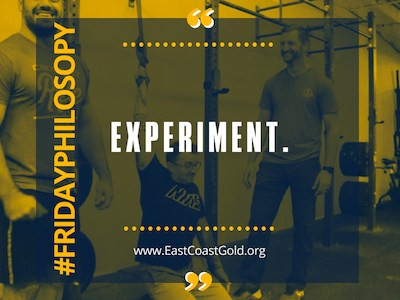 Phil-Osophy: Experiment!