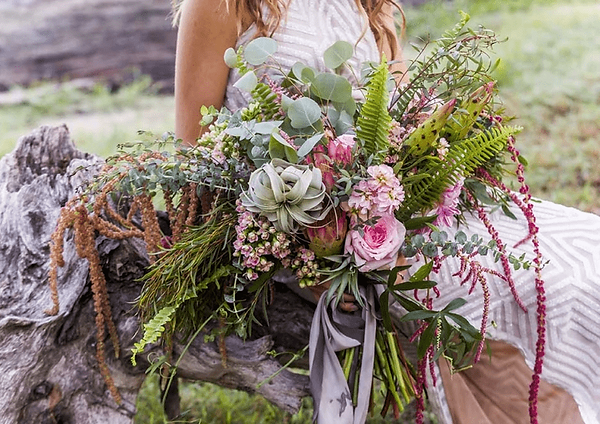 Hatteras Unique Bride Bouquet Honeysuckl