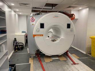 Project Progress - upgraded MRI suite