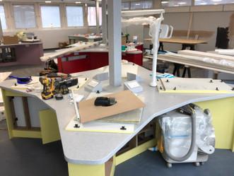 Progress Photos, Clinical skills lab. Liverpool Dental Hospital.