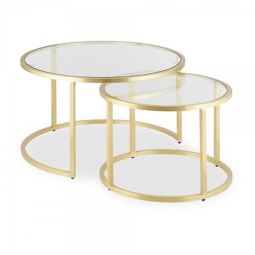 Seville Coffee Tables - 2 pieces