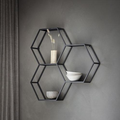 Hex Trio Shelves