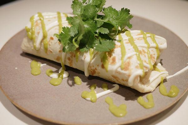 13Chicken-Burrito,red-rice,cilantro,sour