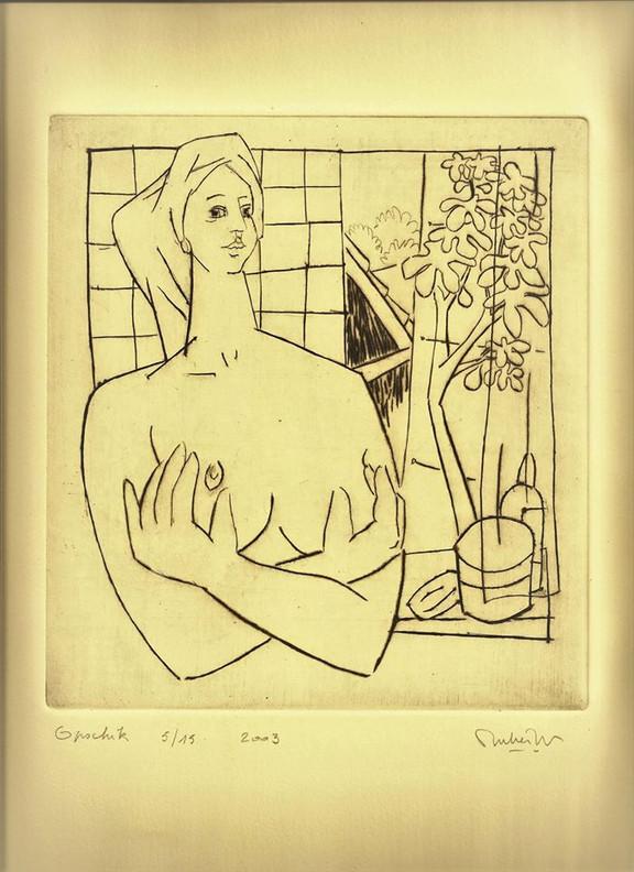 Wouter Mullier, Opschik, 5/15, 20 x 20 cm
