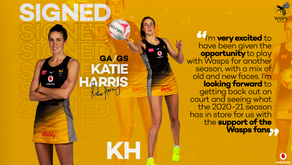 Katie Harris re-signs for wasps