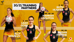 Wasps Netball Announce Training Partners for coming season