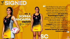 Sophia Candappa announced as wasps Netball captain