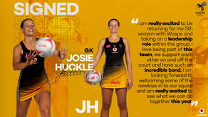 Josie Huckle re-signs for wasps