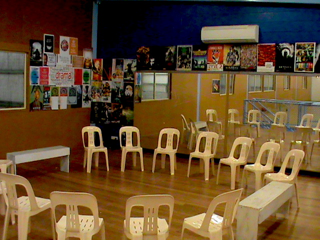 Drama class set-up