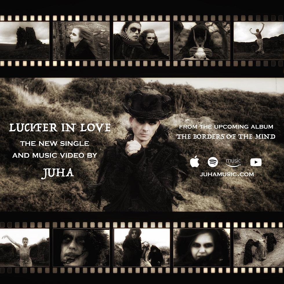 Lucifer In Love single ADVERT IN PROGRES
