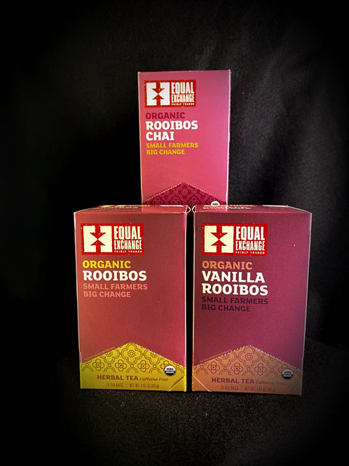 Equal Exchange Organic Herbal Teas
