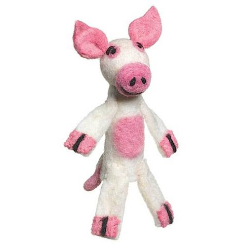 Woolie Pig Finger Puppet