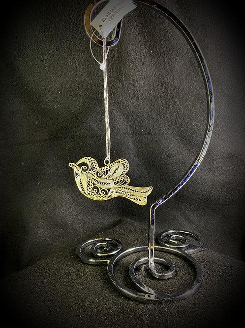 Filigree Bird Ornament