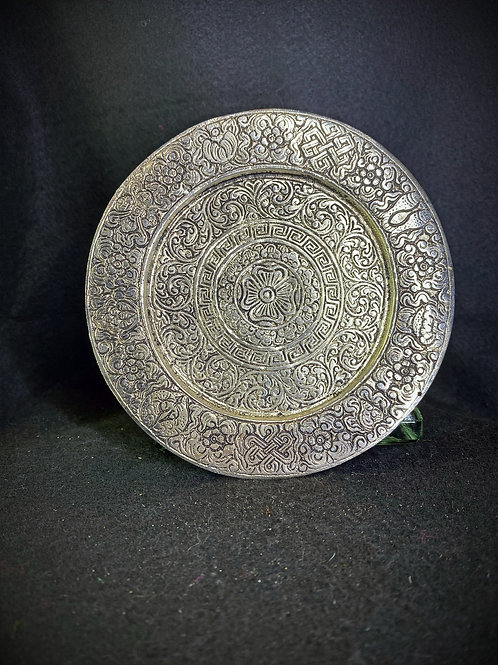 Aluminum Incense or Candle Plate