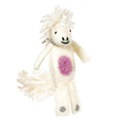 Woolie Unicorn Finger Puppet