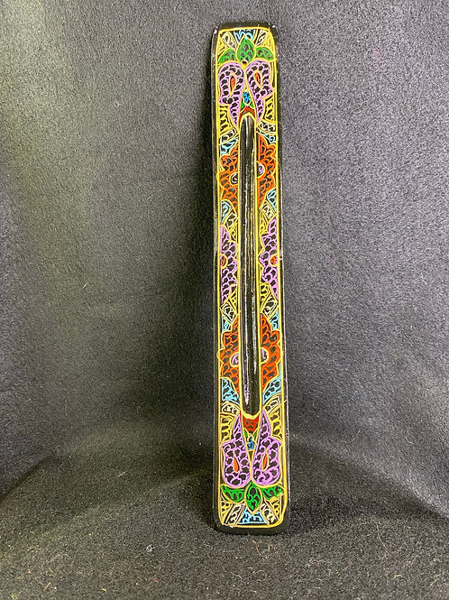 Painted Incense Holder