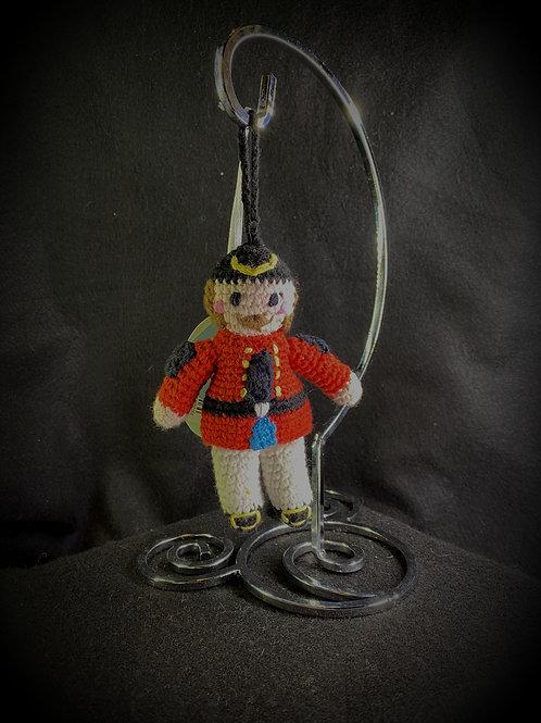 Crocheted Nutcracker