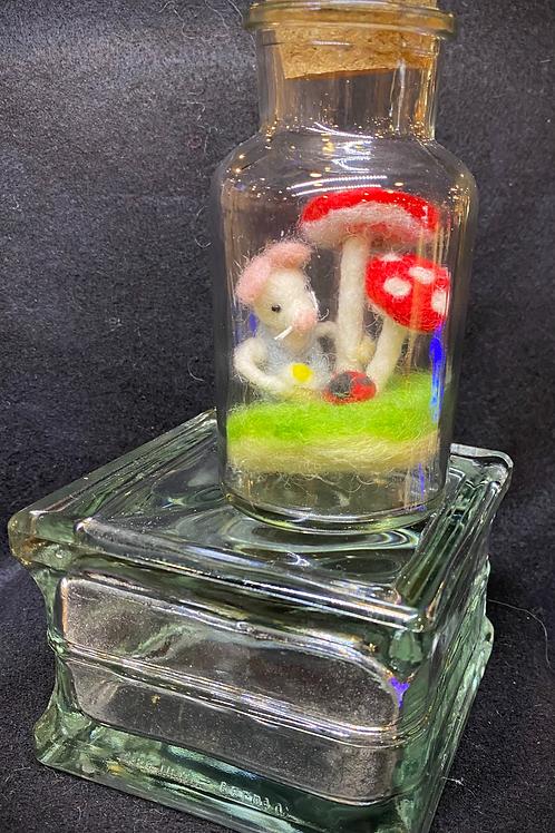 Garden Mouse Story Jar
