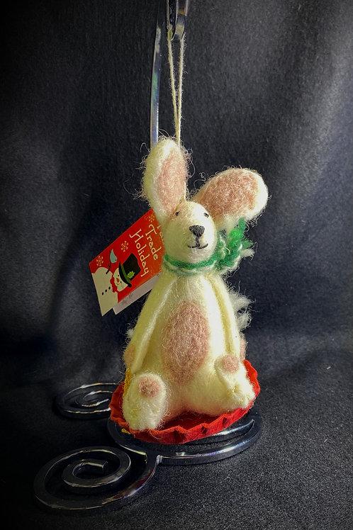 Sledding Bunny Rabbit