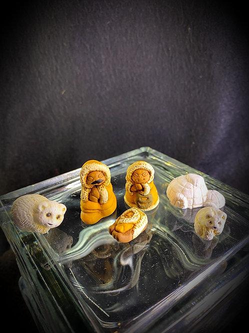 Miniature Polar Nativity Set