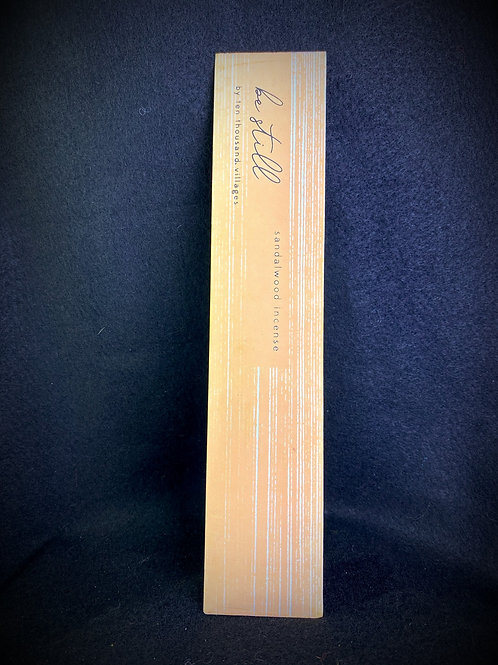 Be Still Sandalwood Incense