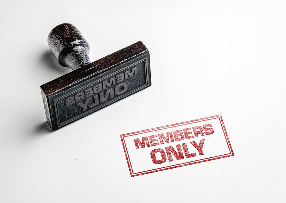 private club members only