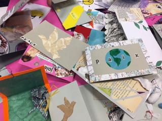 Journée internationale de la paix - Atelier cartes postales