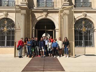 Les étudiants de DN MADE 1 en visite au musée des beaux arts