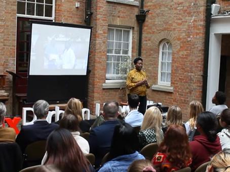 Gladys Kyotungire speaks at TEDx Durham University - Make your Mark