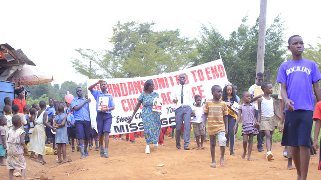 Community Outreach with Children - Kasangati