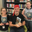 Peter FitzSimons at Springfield Central Library