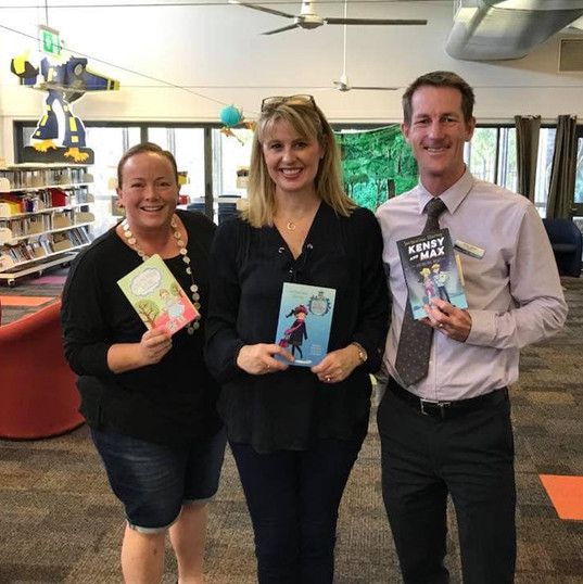 Jacqueline Harvey visits Amberley State School