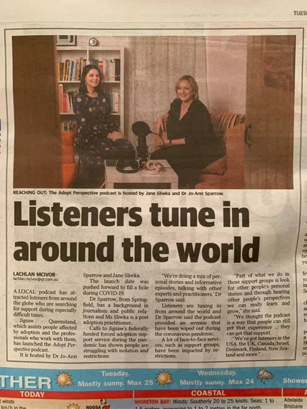 Listeners tune in around the world