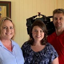 Interview with Ch7 for Jigsaw Queensland