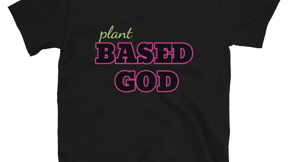 Plant Based God Short Sleeve Tee