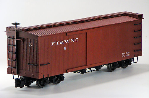 (G) Sliding Door Boxcar - ET&WNC