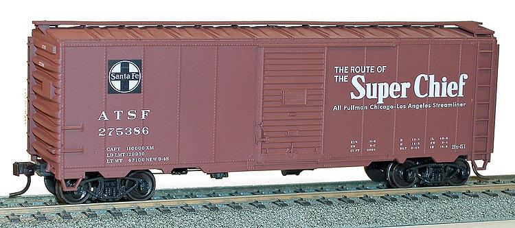 (HO) Accurail 40' Boxcar Kit - Santa Fe